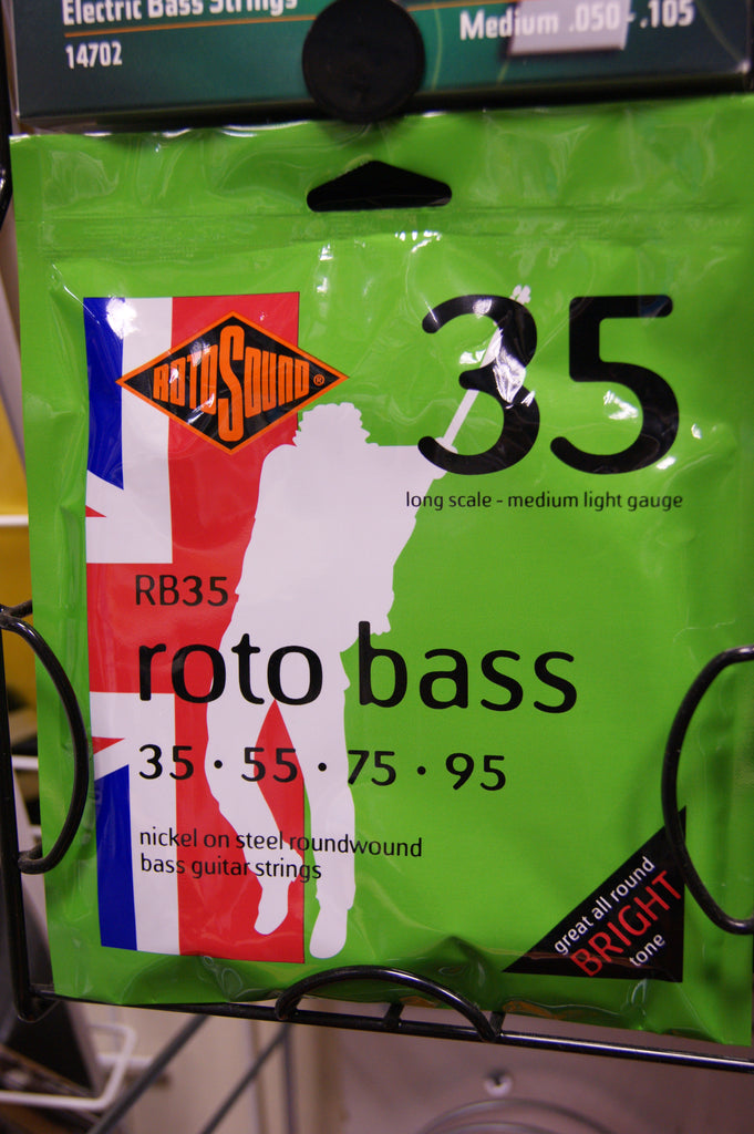 Rotosound RB35 Roto bass guitar strings 35-95 (3 PACKS)