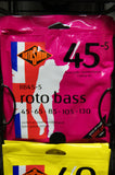Rotosound RB45-5 Roto bass guitar 5 string set 45-130