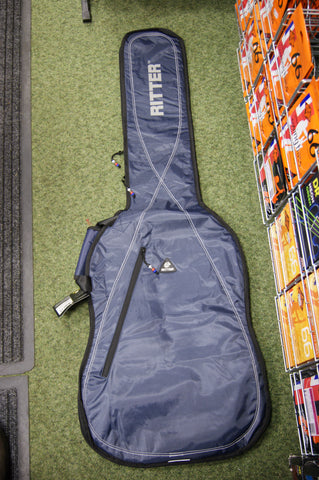 Ritter RGP2-2B/BLW padded bass guitar bag