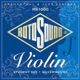 Rotosound RS1000 silverwound violin strings