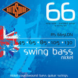 Rotosound RS 665LDN swing bass guitar nickel roundwound 5 string set 45-130