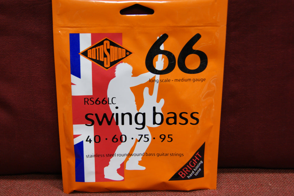 Rotosound RS 66LC swing bass guitar strings 40-95