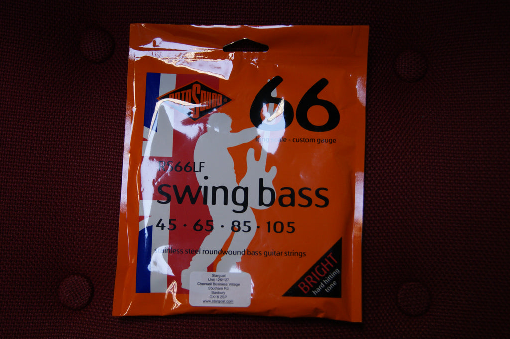 Rotosound RS66LF swing bass guitar strings 45-105