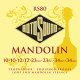Rotosound RS80 Troubador mandolin strings 10-34 (2 packs)