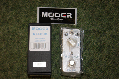 Mooer Reecho digital delay guitar pedal