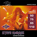 Rotosound Steve Harris SH77 bass guitar strings Steve Harris