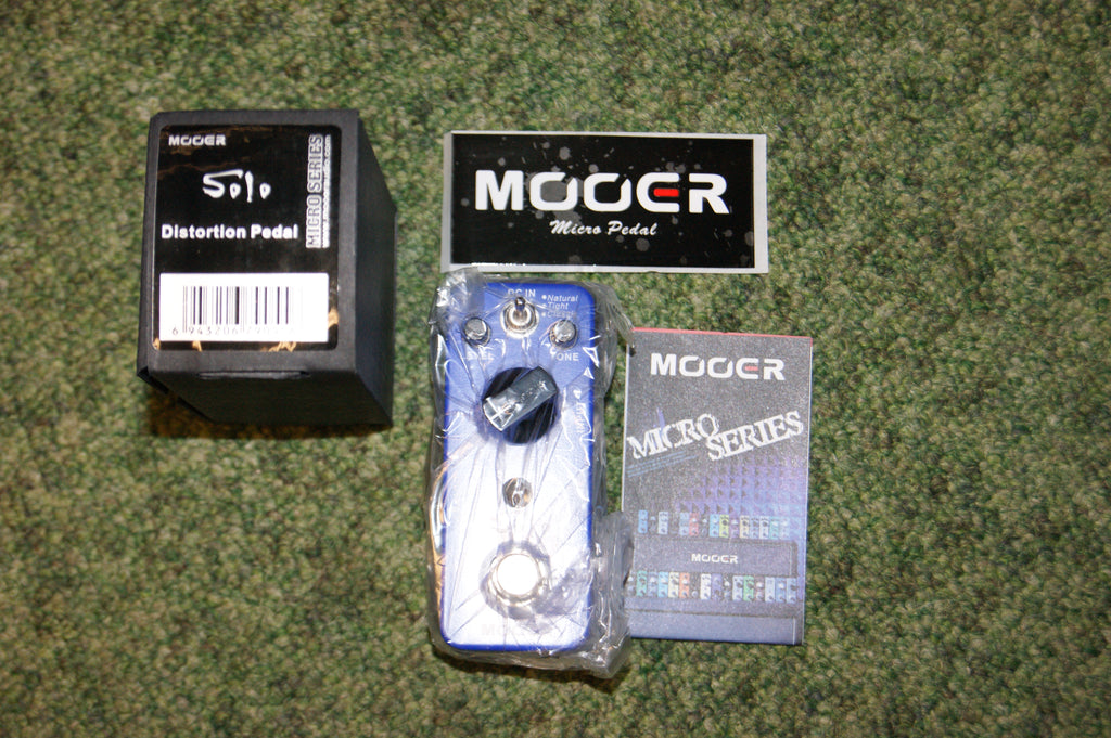Mooer Solo Distortion pedal