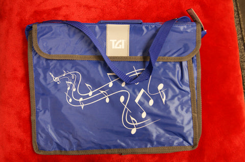 Music bag by TGI in blue