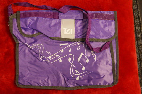 Music bag by TGI in purple
