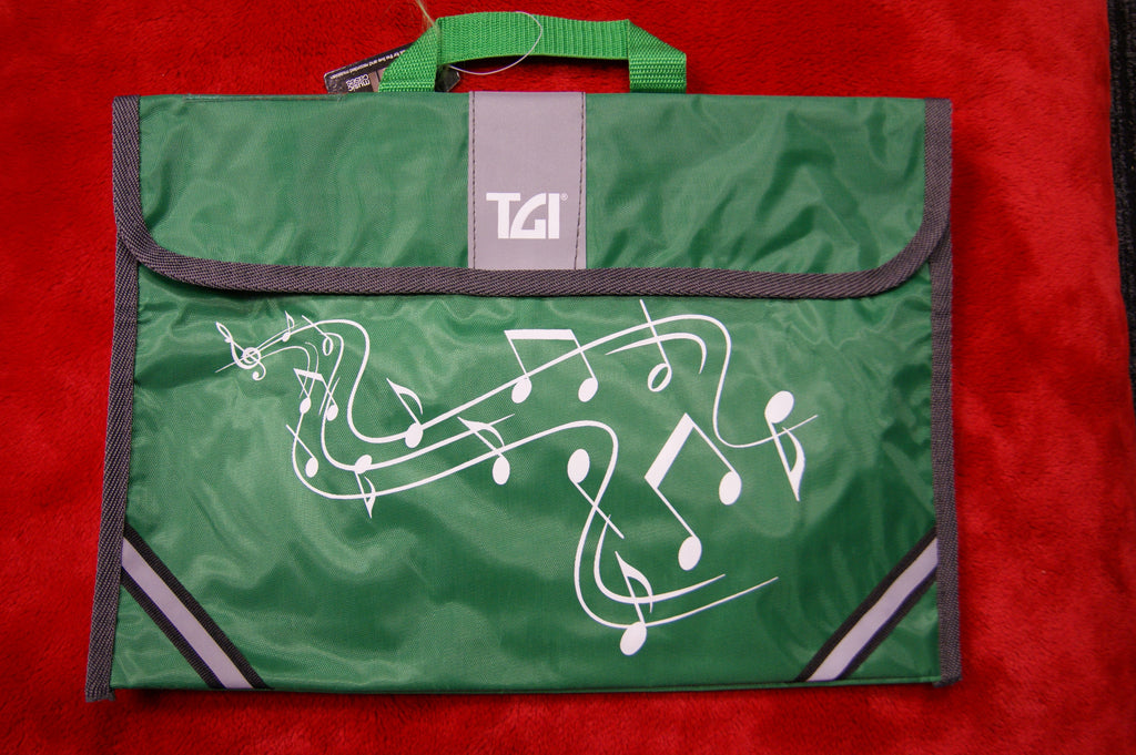 Music bag in green by TGI