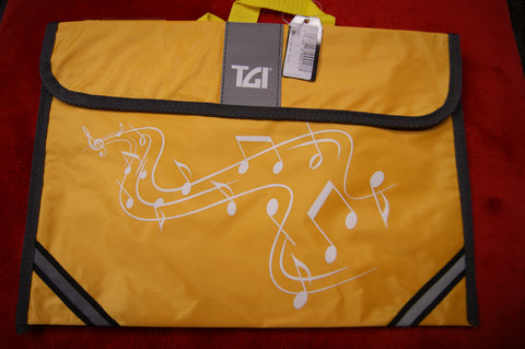 Music bag in yellow by TGI