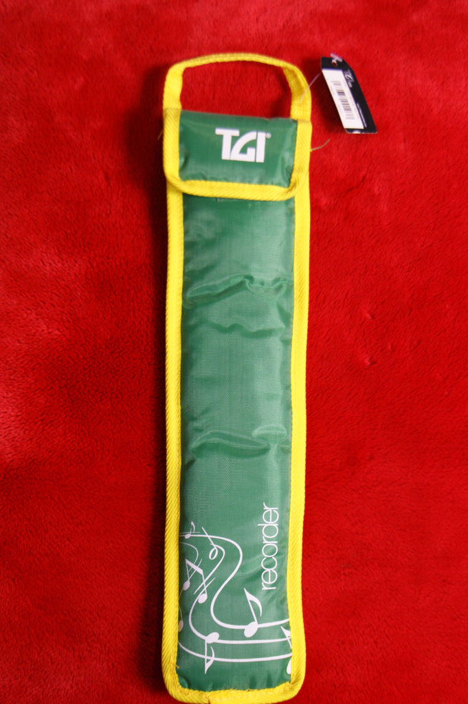Recorder bag by TGI green