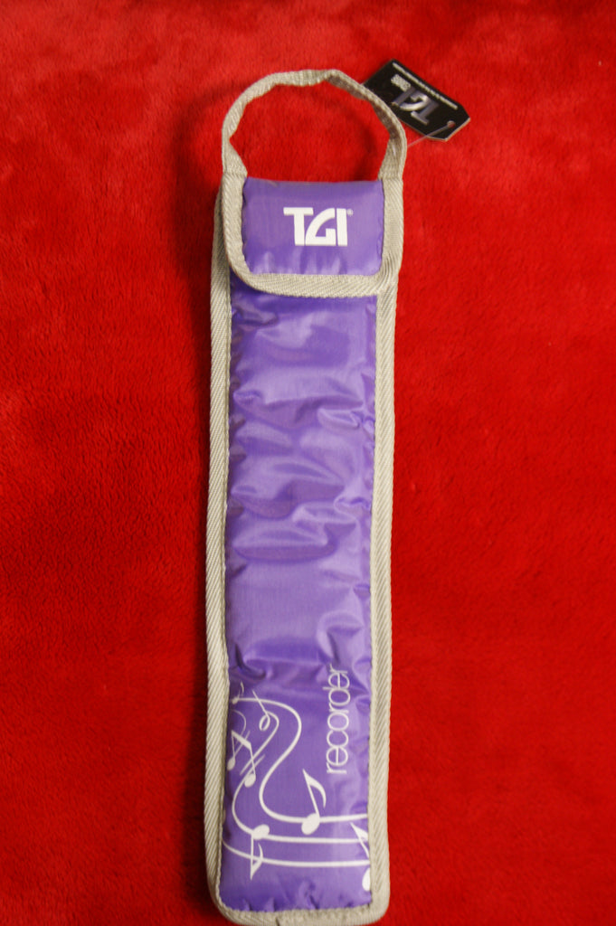 Recorder bag purple by TGI