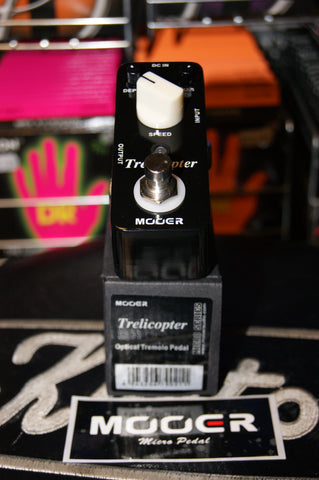 Mooer Trelicopter optical tremelo pedal