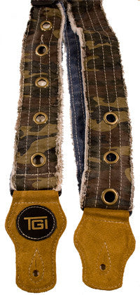 Guitar strap distressed look by TGI