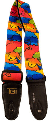Guitar strap Neon Sheep by TGI