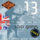 Rotosound R13 heavy electric guitar strings 13- 54