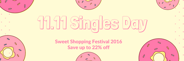 singles day sweet shopping festival