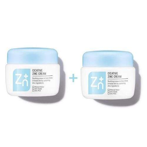 A'PIEU Face Cream [1+1] A'PIEU Cicative Zinc Cream Buy One Get One - KollectionK