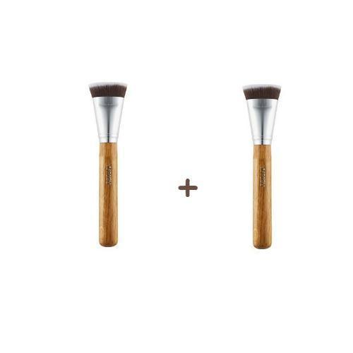 A'PIEU Makeup Brush [1+1] A'PIEU Flat Brush 2ea Set - KollectionK