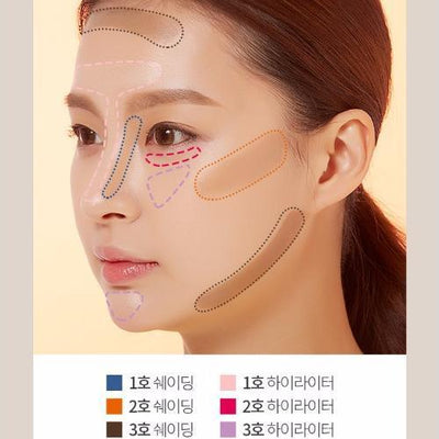 A'PIEU Bronzer No.1 A'PIEU 3D Contouring Stick Duo - KollectionK