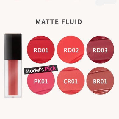 A'PIEU Lip Stain MATTE FLUID_RD01 A'PIEU All About Lip Stain - KollectionK