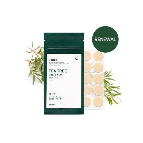 A'PIEU Sheet Mask A'PIEU NonCo Tea Tree Spot Patch [Night Care] - KollectionK