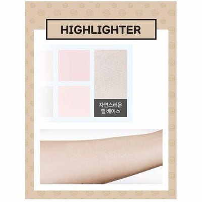 A'PIEU Makeup Palette A'PIEU x BONOBONO Filter Palette No.2 COOL NIGHTVIEW - KollectionK