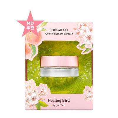 CLIO Perfume No.03 Cherry Blossom and Peach Scents CLIO Healing Bird Perfum Gel - KollectionK