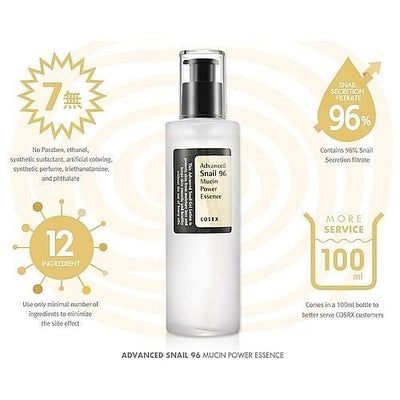 COSRX Face Lotion COSRX Advanced Snail 96 Mucin Power Essence - KollectionK