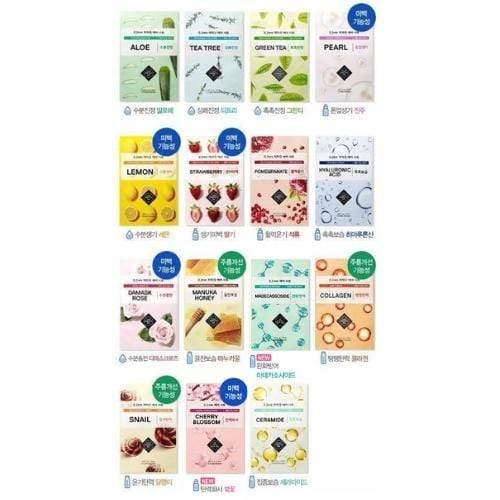 ETUDE HOUSE Sheet Mask ETUDE 0.2 Therapy Air Mask A Set of 15 sheets - KollectionK