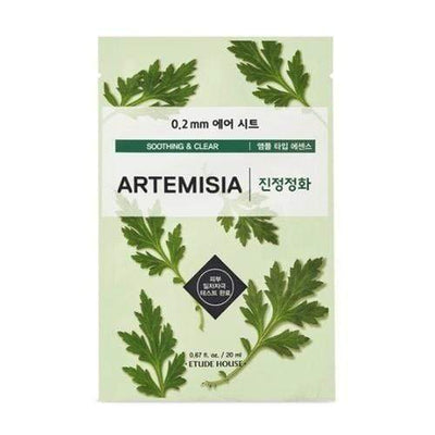 ETUDE HOUSE Sheet Mask ARTEMISIA_Soothing and Clear ETUDE 0.2 Therapy Air Mask NEW Spring Ver. - KollectionK