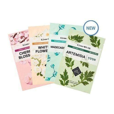ETUDE HOUSE Sheet Mask CHERRY BLOSSOM_Firming and Brightening ETUDE 0.2 Therapy Air Mask NEW Spring Ver. - KollectionK