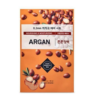 ETUDE HOUSE Sheet Mask ARGAN ETUDE 0.2 Therapy Air Mask NEW Ver. - KollectionK