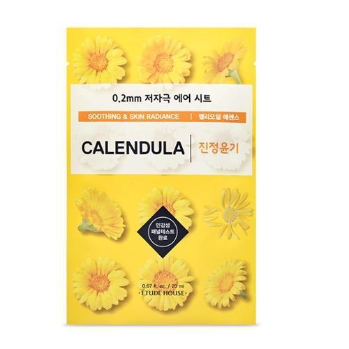 ETUDE HOUSE Sheet Mask CALENDULA ETUDE 0.2 Therapy Air Mask NEW Ver. - KollectionK