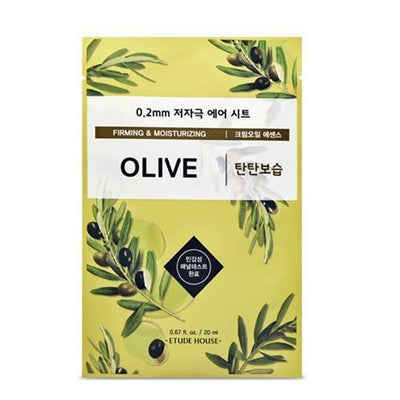 ETUDE HOUSE Sheet Mask OLIVE ETUDE 0.2 Therapy Air Mask NEW Ver. - KollectionK
