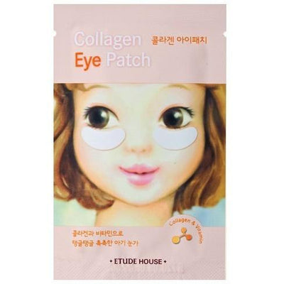 ETUDE HOUSE Sheet Mask #2 Collagen Eye Patch-white ETUDE Baby Girl Skin: Skin Care Pack - KollectionK