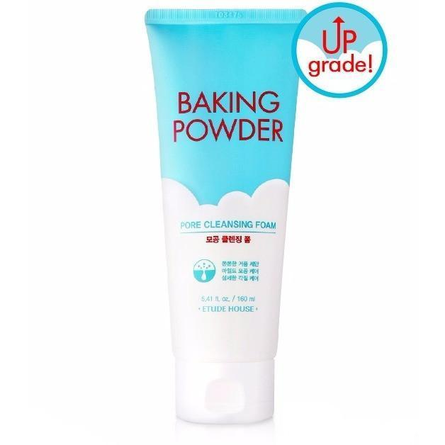 ETUDE HOUSE Facial Cleanser 160ml ETUDE Baking Powder Pore Cleansing Foam 3in1 Type - KollectionK