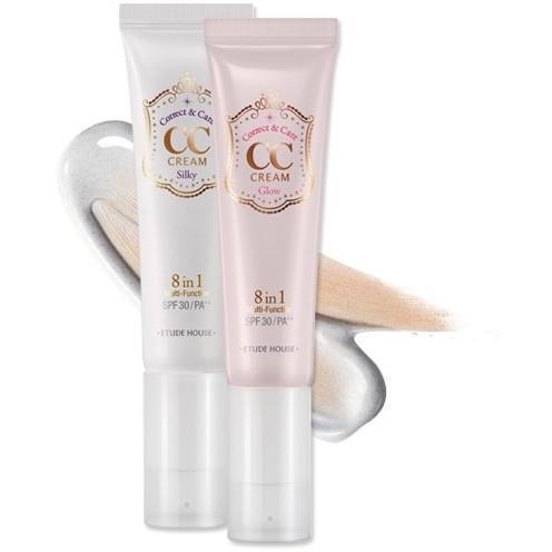 ETUDE HOUSE CC Cream #1-Silky ETUDE CC Cream SPF30 PA++ - KollectionK