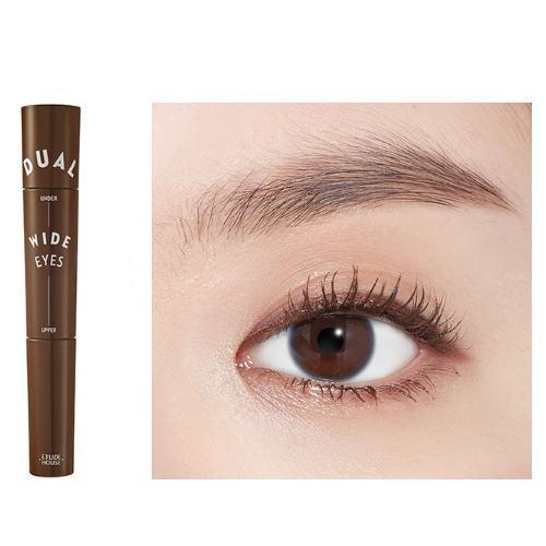 ETUDE HOUSE Mascara No.2 Brown x Brown ETUDE Dual Wide Eyes Mascara - KollectionK