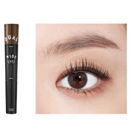 ETUDE HOUSE Mascara No.4 Black x Brown ETUDE Dual Wide Eyes Mascara - KollectionK