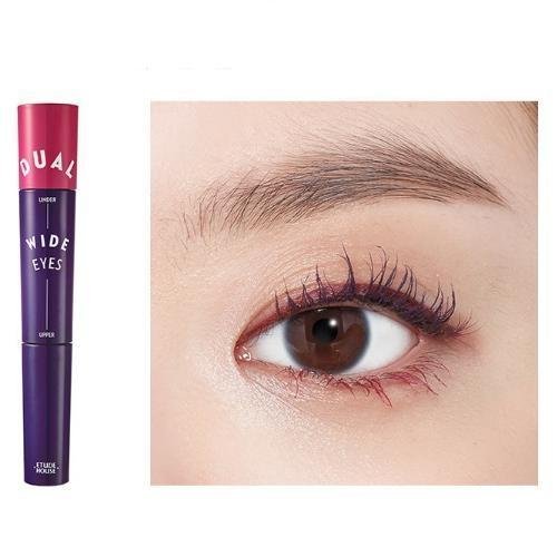 ETUDE HOUSE Mascara No.5 Violet x Raspberry ETUDE Dual Wide Eyes Mascara - KollectionK