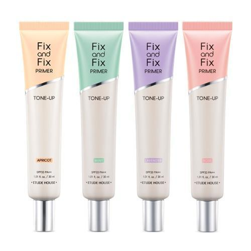 ETUDE HOUSE Face Primer Apricot_Tone Up ETUDE Fix and Fix Primer - KollectionK
