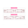 ETUDE HOUSE Eyebrow Tool #1 Straight Brow ETUDE My Beauty Tool Personal Brow Band - KollectionK
