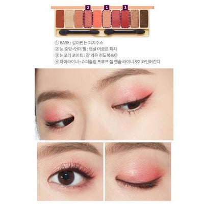 ETUDE HOUSE Eyeshadow ETUDE Play Color Eyes Peach Farm - KollectionK