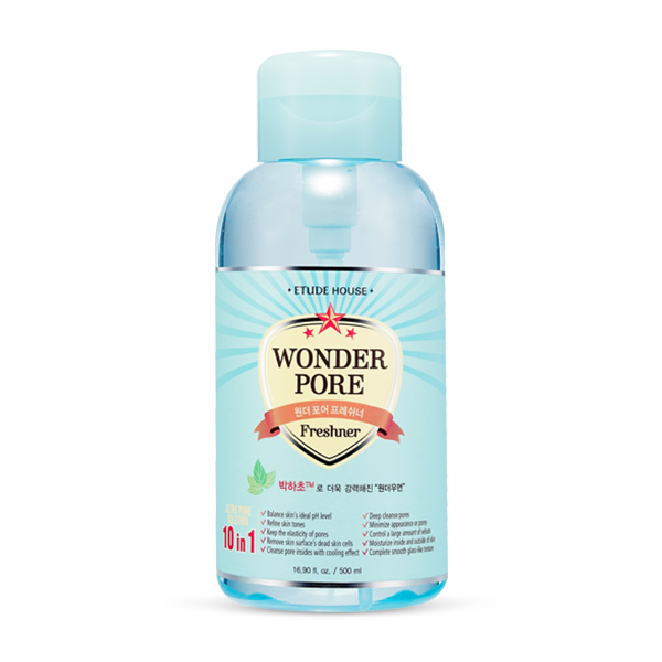 ETUDE HOUSE Skin Toner 500ml-UPGRADE ETUDE Skin toner  Wonder Pore Freshener - KollectionK