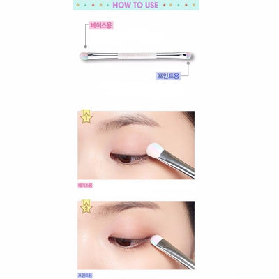 ETUDE HOUSE Makeup Brush ETUDE WONDER FUN PARK Color Eyes Shaow Brush - KollectionK