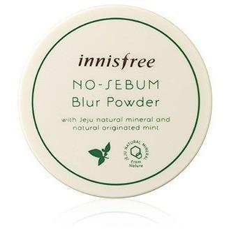 innisfree Face Powder Skin Color ININSFREE NO-SEBUM BLUR POWDER - KollectionK