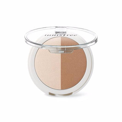 innisfree Bronzer #01 innisfree face designing duo - KollectionK