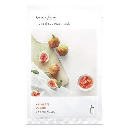 innisfree Sheet Mask FIG INNISFREE IT'S REAL SQUEEZE MASK NEW LINE - KollectionK